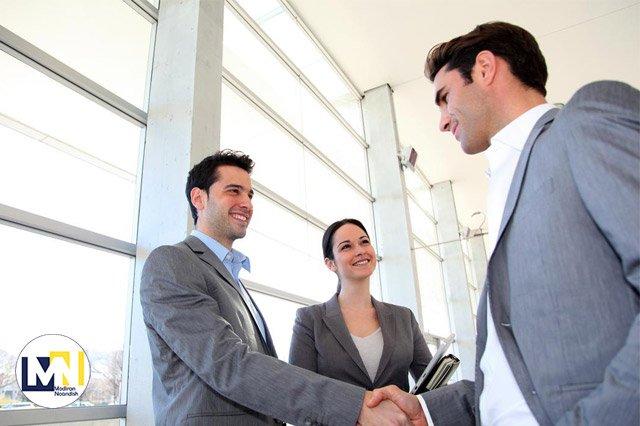 اولین وقت قرار ملاقات با مشتری و مدیران
