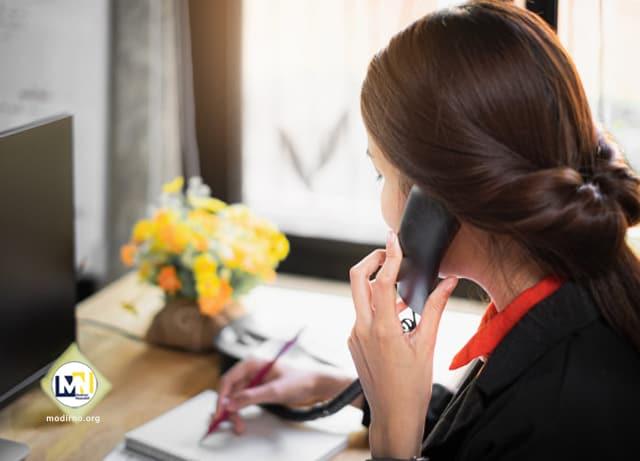 آموزش بازاریابی و مذاکره تلفنی