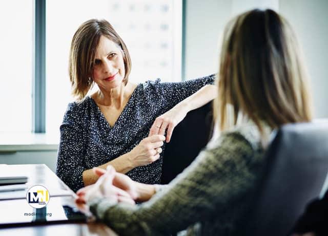 ارتباط کارمند با رئیس یا مدیر